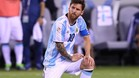 El crack argentino Leo Messi lo tiene muy claro: toca levantarse