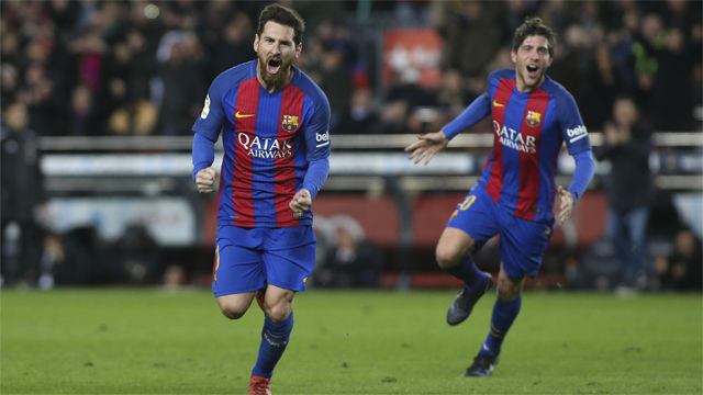 Video resumen FC Barcelona - Athletic Club (3-1). Vuelta octavos Copa del Rey 16-17