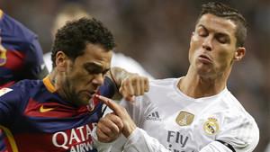Dani Alves aclaró qué había pasado con Cristiano Ronaldo