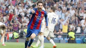Leo Messi marcó dos goles muy importantes contra el Real Madrid