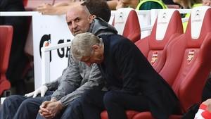 Wenger se quedó fuera de la Champions