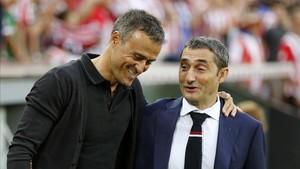 Luis Enrique y Valverde esta campaña