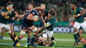 Sudáfrica volvió a dominar a Francia en Ellis Park