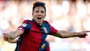 Giovanni Simeone ha realizado una buena temporada en el Genoa