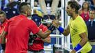 Kyrgios derrotó a Nadal y jugará las semifinales