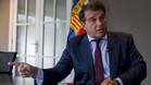 A Laporta también le preocupa que Messi pueda dejar el Barça
