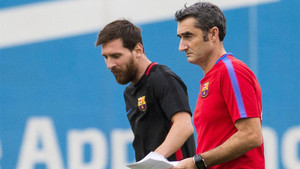 Valverde habló del papel de Leo Messi en el equipo