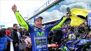 Rossi, segundo en Australia