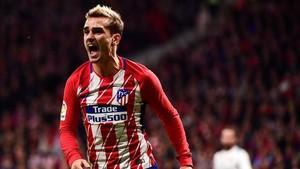 Griezmann no vive un buen presente en el Atlético