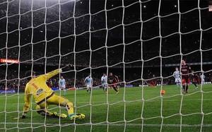 El lanzamiento de penalti de Messi ha dado la vuelta al mundo