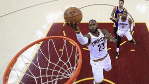 LeBron James, estrella de los Cleveland Cavaliers