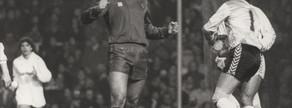 En cinco minutos Gary Lineker ya le había marcado dos goles a Buyo, y apenas comenzar la segunda mitad marcó un tercero en el derbi del diez de enero de 1987, que concluyó con una ajustada victoria azulgrana por 3-2