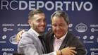 Lucas Pérez se despidió del Deportivo con muestras de cariño