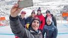 marquez, Pedrosa, Sainz, Verstappen en la prueba de Kitzbuehel de Copa del Mundo de esqui Alpino