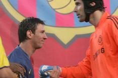 Messi y Cech se volver�n a ver las caras el 23 de febrero