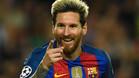 Messi envi� un mensaje a la afici�n