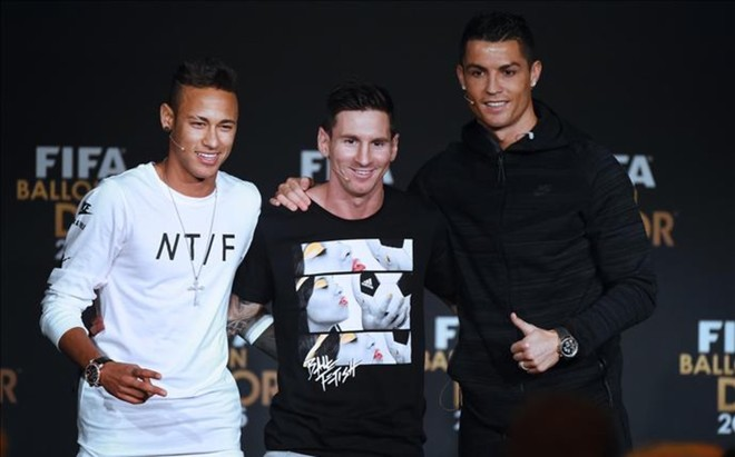 Neymar, Messi y Cristiano repiten este a�o