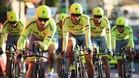 El Tinkoff de Alberto Contador se dej� 52 segundos en la contrarreloj por equipos