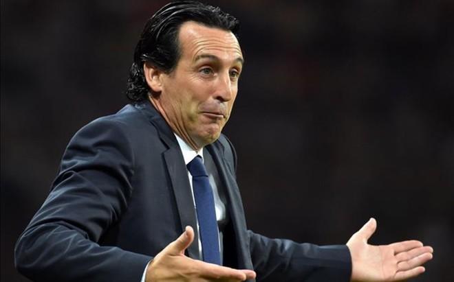 Unai Emery, el pasado viernes durante el partido contra el Toulouse