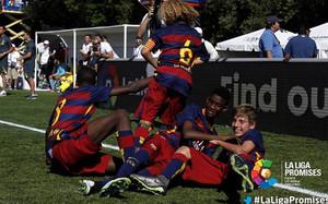 El Barça, campeón de LaLiga Promises 2015