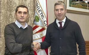 Urrutia se felicita por haber logrado la renovación de Valverde