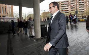 Sandro Rosell volvió a la Ciutat de la Justícia este martes