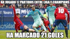 Messi marcó un doblete