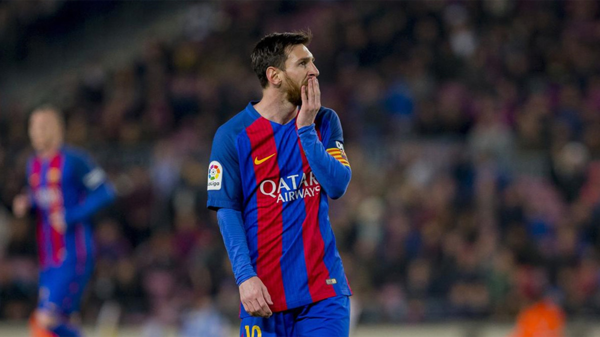 Messi firma con el Real Madrid