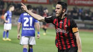 Ramon Folch celebró un gol que no le dio al Reus para ganar el partido