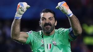 Buffon bate récords en la Juventus y en la Serie A