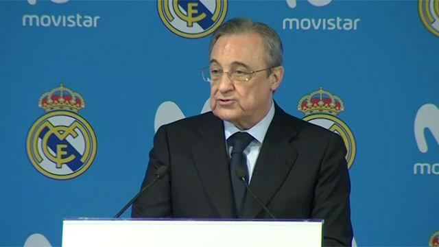 Florentino: El Real Madrid es respetado por los principios y los valores