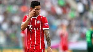 James Rodríguez tendrá dura competencia en el Bayern