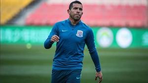 Tevez sólo ha marcado un par de goles con el Shanghai Shenhua