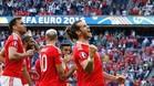 La suerte se al�a con Gales y pasa a cuartos de final