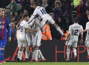 Barça y Real Madrid empataron a un gol en el Camp Nou