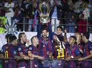 El FC Barcelona levant� su �ltimo t�tulo de la Champions League en 2015