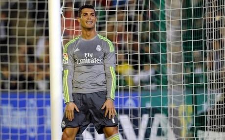 Cristiano Ronaldo s�lo puede presumir de haber ganado una Liga con el Real Madrid