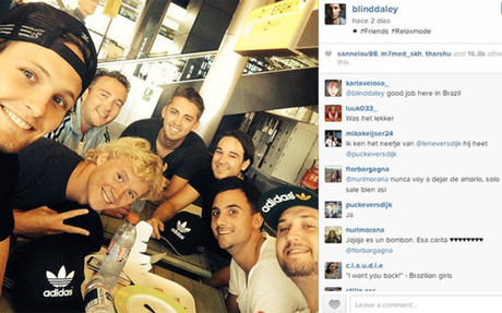 Daley Blind's post