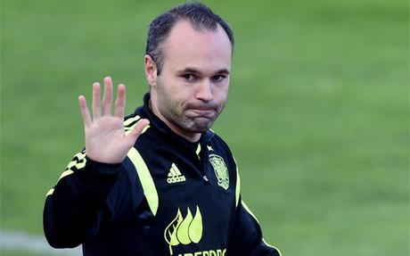 """Iniesta: \""""Me gusta que la final sea en el Camp Nou\"""""""