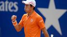 Kei Nishikori sigue mostrándose muy firme en Barcelona