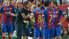Luis Enrique, a una victoria de las 100 con el FC Barcelona, m�s efectivo que Guardiola