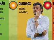 Luis Enrique prepara su plan para Mestalla