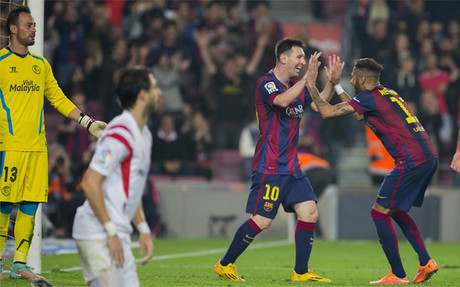Messi y Neymar vieron puerta ante el Sevilla