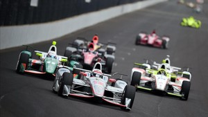 Power brilla en Pocono