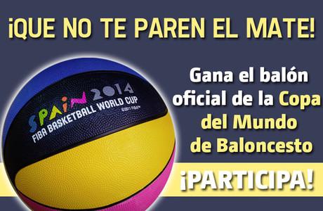 �Quieres conseguir el bal�n oficial de la Copa del Mundo de Baloncesto?