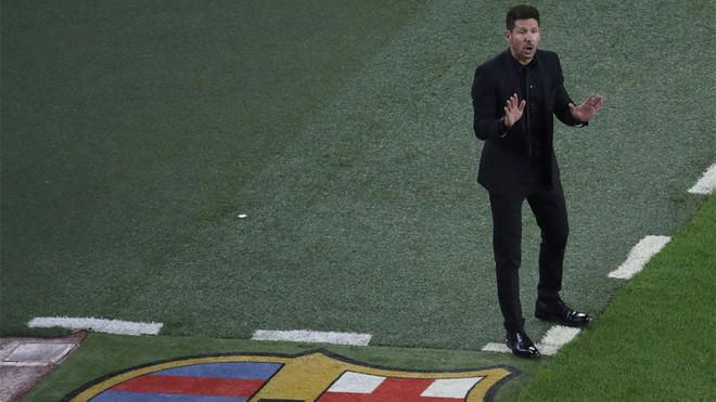 El Atlético examinará el estado anímico del Barça