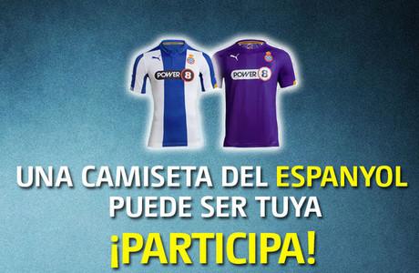 Sorteamos dos camisetas del Espanyol