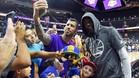 Todo el mundo quer�a fotografiarse con Durant en Las Vegas