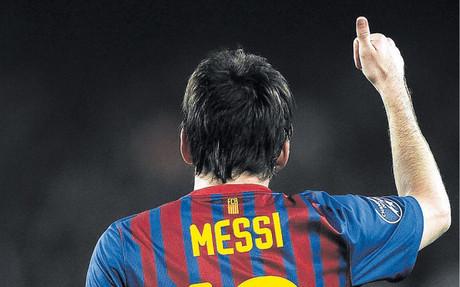 Messi puede acabar la temporada como m�ximo goleador en todos los torneos