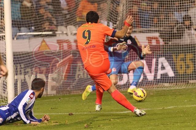 صور : مباراة ديبورتيفو لاكورونيا - برشلونة 0-4 ( 18-01-2015 )  1421614445114